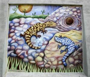 Hubbard street mural by Anastasia Mak