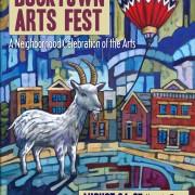 Bucktown Arts fest poster Anastasia mak