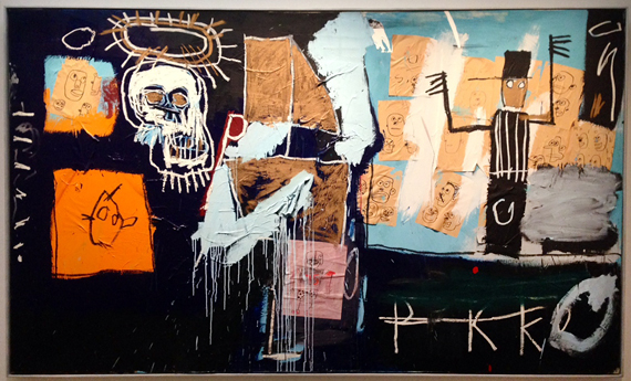 Basquiat painting Paris
