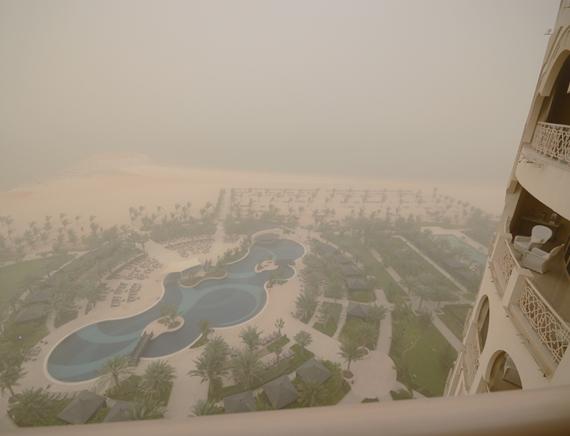 Arab Emirates sand storm