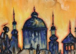 DETAIL: Charles Bridge painting