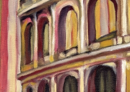 DETAIL: Colosseum painting