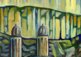 DETAIL: Zurich painting