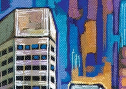 DETAIL: Indianapolis painting