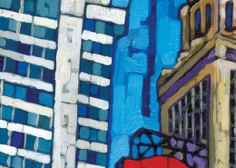 DETAIL: State Street painting