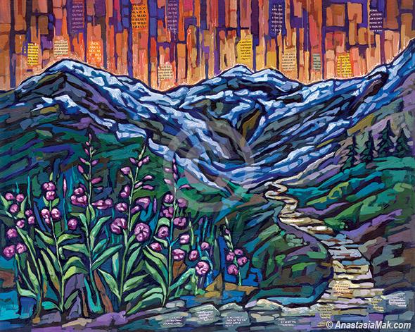 Alaska Summer painting