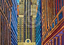 Chicago Board of Trade painting