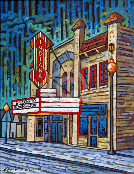 Buskirk Chumley theater painting