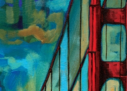 DETAIL: Golden Gate Bridge