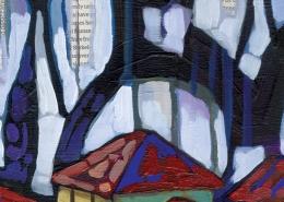 DETAIL: Granada painting