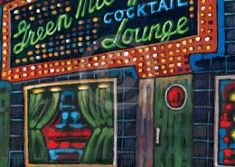 Green Mill painting