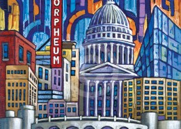 Madison Wisconsin painting
