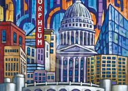 Madison Wisconsin painting