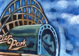 DETAIL: Miller Park painting