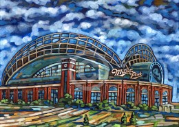 Miller Park painting