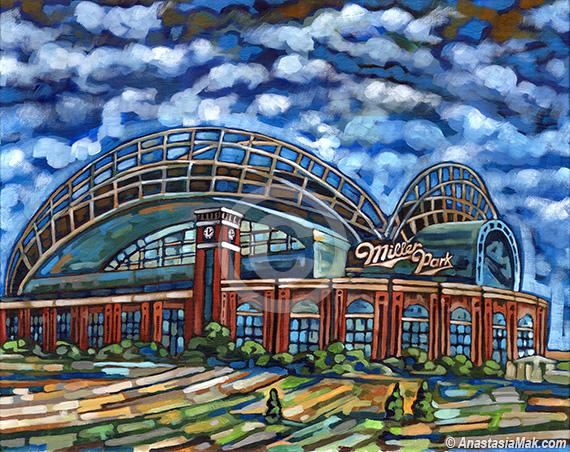 Miller Park painting