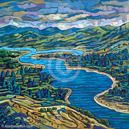 Oregon painting