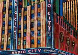 Radio City painting