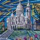 Sacre Coeur painting