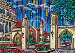 Sample Gates painting