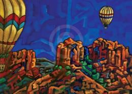 Sedona Balloons painting
