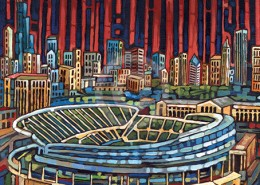 Soldier Field Painting
