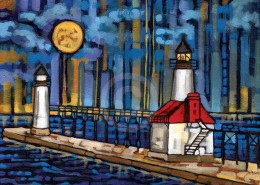 St Joseph Michigan painting