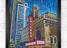Framed Print: State Street