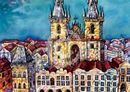 Prague painting