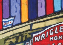DETAIL: Summer Wrigley painting