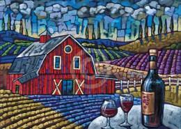 Tuscan Harvest painting