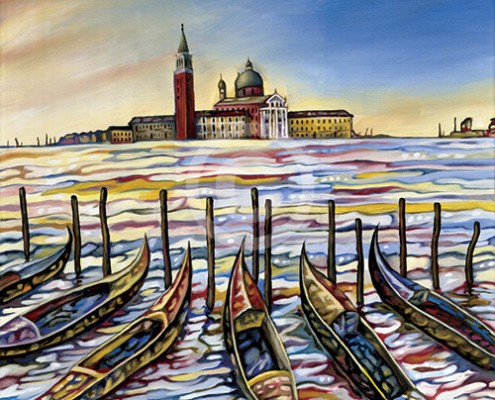 Venice Waters painting