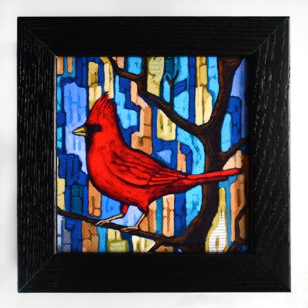 Cardinal Box Frame Print