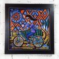 12x12 Print on Canvas by Anastasia Mak