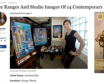 Forbes feature - Anastasia Mak