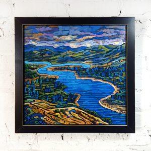 16x16 Framed Print on Canvas
