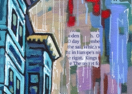DETAIL: Boston North End painting