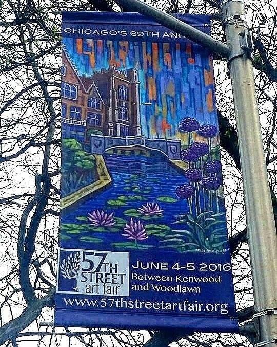 57th Street Art Fair 2016 banner