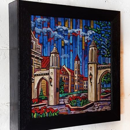 Sample Gates Box Frame Print