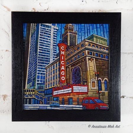 State Street Box Frame Print