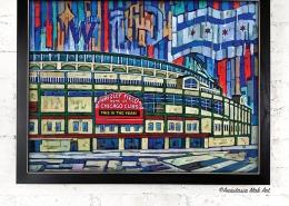 Framed Print: Wrigley Year