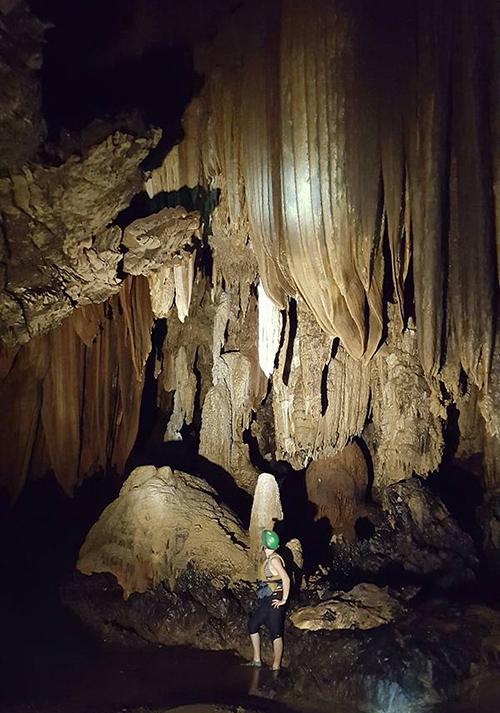 Thailand caving