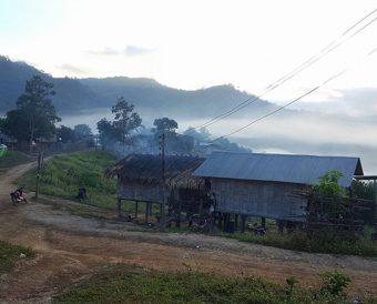 Lahu village thailand