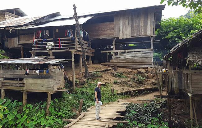 Mae Hong Son Karen village