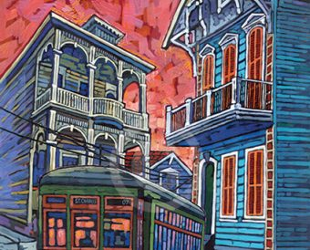 Garden District painting