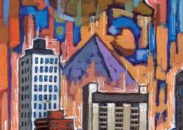 DETAIL: Memphis painting