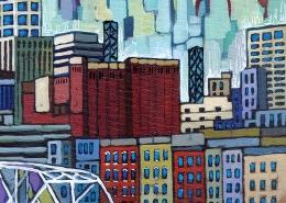 DETAIL: Nashville painting