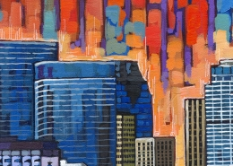 DETAIL: Houston painting