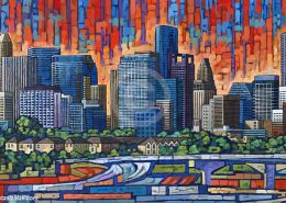 Houston painting