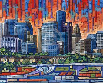 Houston painting